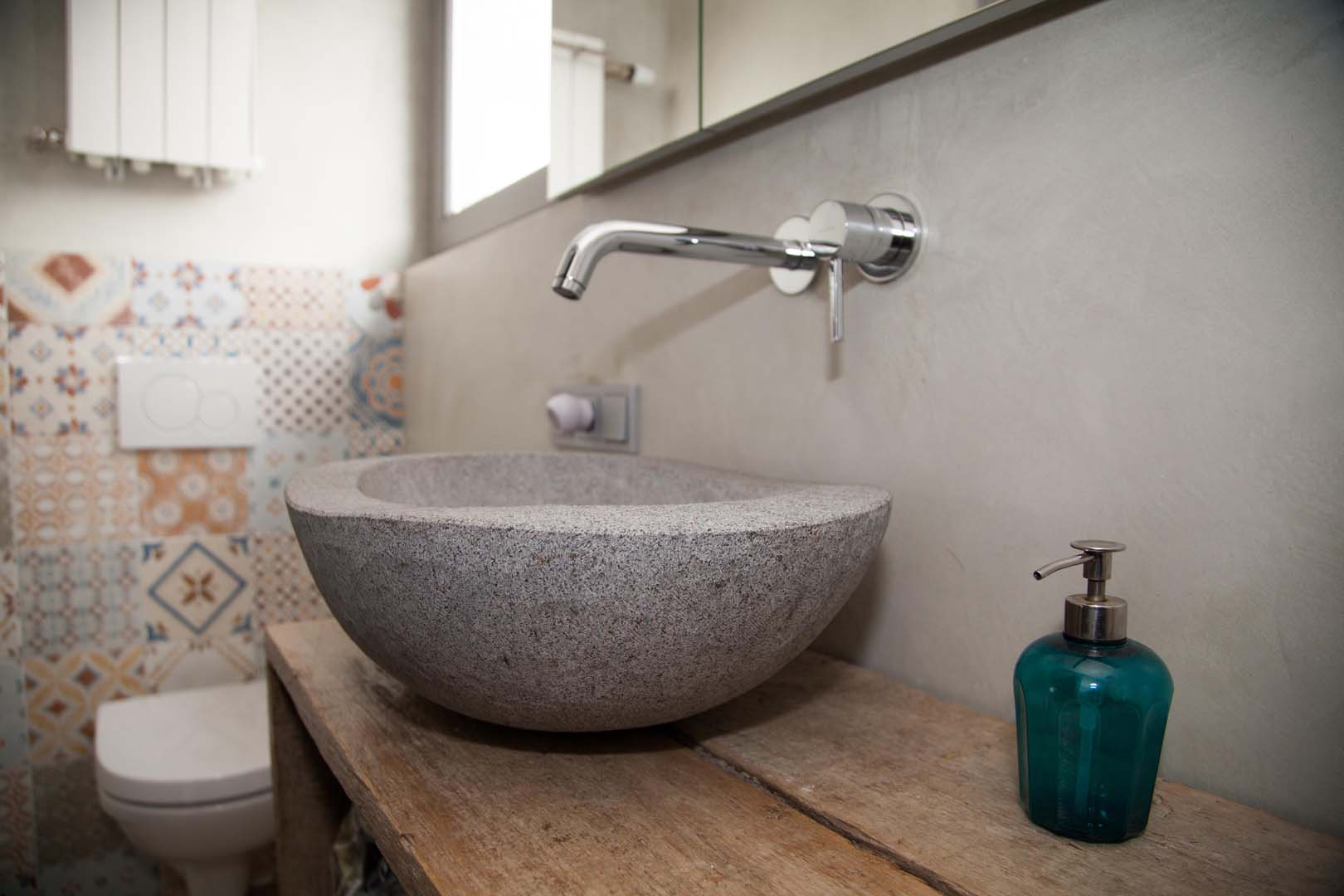 Renovatie Badkamer Tegels : Naturelook renovatie badkamer bergeijk